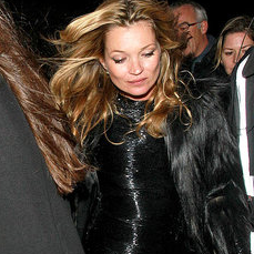 Pictures of Kate Moss Leaving Philip Green's Birthday Party in London