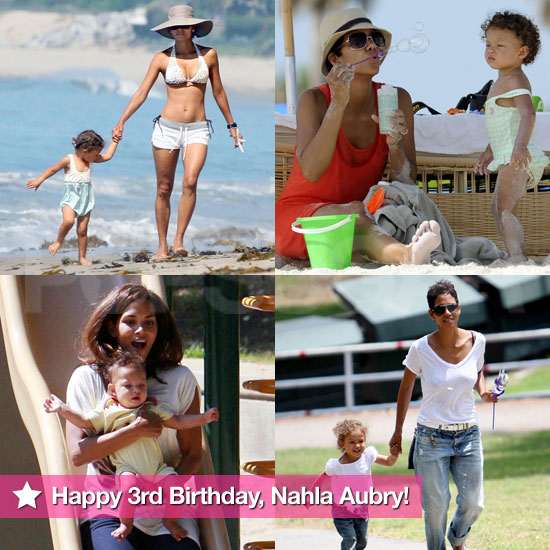 Happy 3rd Birthday, Nahla Aubry!