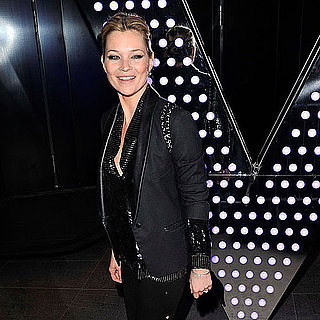 Pictures of Kate Moss at W Party in London