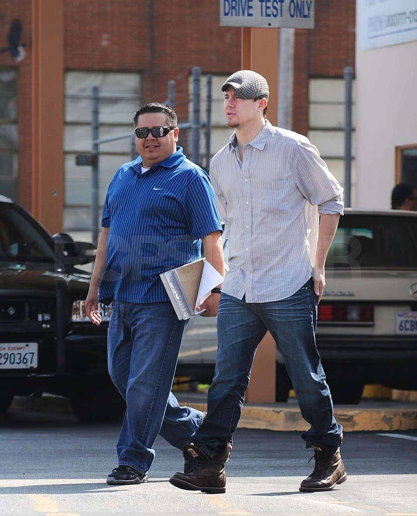 Channing Tatum Has a License to Drive Fans Wild With His Good Looks!
