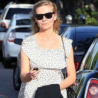 Pictures of Kirsten Dunst Walking in LA