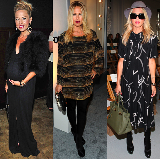 We showed you Rachel Zoe's glamorous pregnancy style.