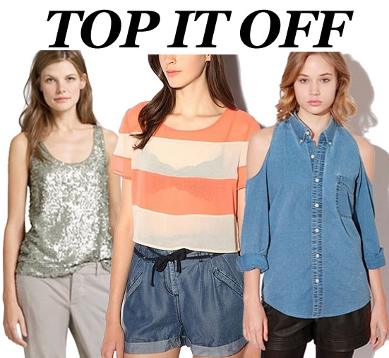 A new top is an easy way to transform a Spring look — we showed you our top 10 picks.