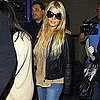 Pictures of Jessica Simpson Arriving Home at LAX