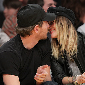 Pictures of Drew Barrymore Kissing Will Kopelman at a Lakers Vs. Clippers Game