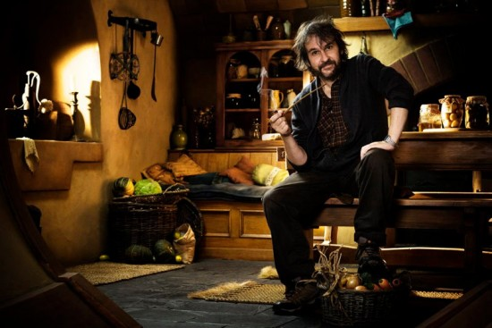 Check Out Peter Jackson on the Set of The Hobbit!