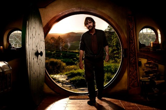 Filming For The Hobbit Is Under Way, and Peter Jackson Is on the Set!
