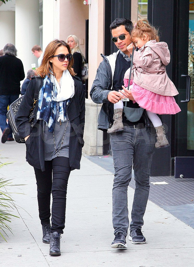 Jessica Alba and Cash Warren Team Up to Take Honor to Breakfast