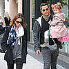 Pictures of Jessica Alba With Cash Warren and Honor in LA