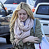 Pictures of Dakota Fanning Walking to School in LA