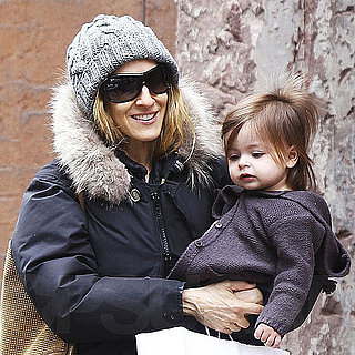 Pictures of Sarah Jessica Parker Walking in NYC With Marion and Tabitha