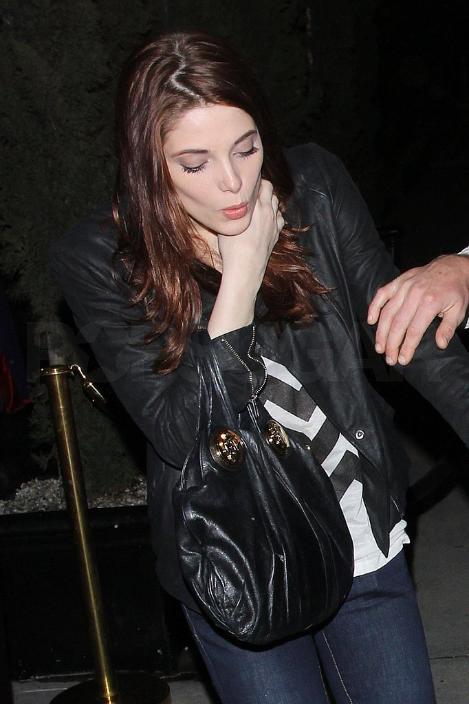 Ashley Greene Takes Her Single Self Out to the Club