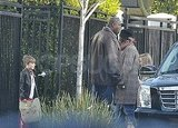 Johnny Depp Does Dad Duty With Jack and Lily-Rose