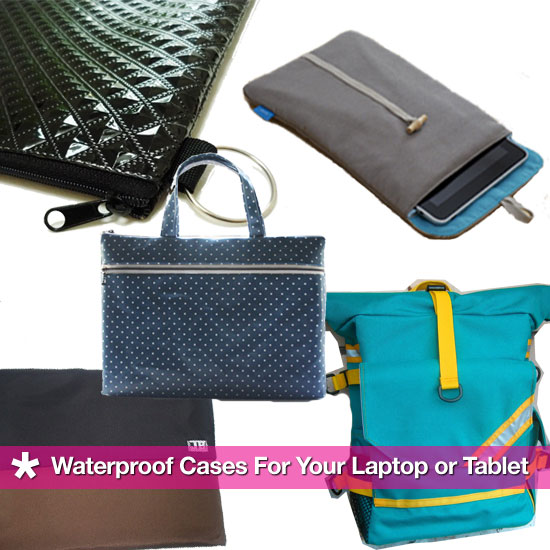 Water-Resistant Laptop and iPad Sleeves