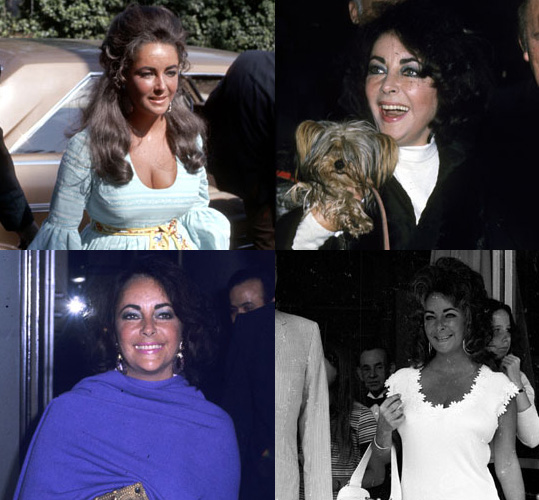 Photos of Elizabeth Taylor in the 1960s and 1970s Remembering Her Style