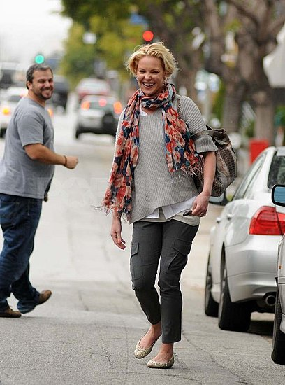 Katherine Heigl Lunches With a Funny Friend