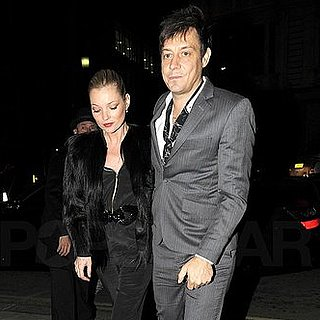 Pictures of Engaged Duo Kate Moss and Jamie Hince Having Dinner in London