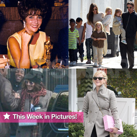 The Jolie-Pitts, Reese Witherspoon, Johnny Depp, and More in This Week in Pictures!