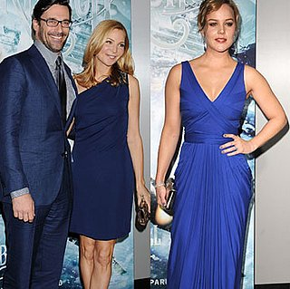 Pictures of Jon Hamm, Jennifer Westfeldt, Vanessa Hudgens, and Abbie Cornish at the Sucker Punch Premiere
