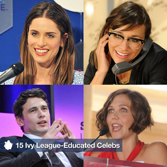15 Sexy, Savvy, and Smart Ivy League-Educated Celebs