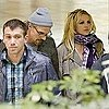 Pictures of Britney Spears Leaving LAX With Boyfriend Jason Trawick