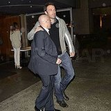 Pictures of Ben Affleck Leaving LA's Katsuya