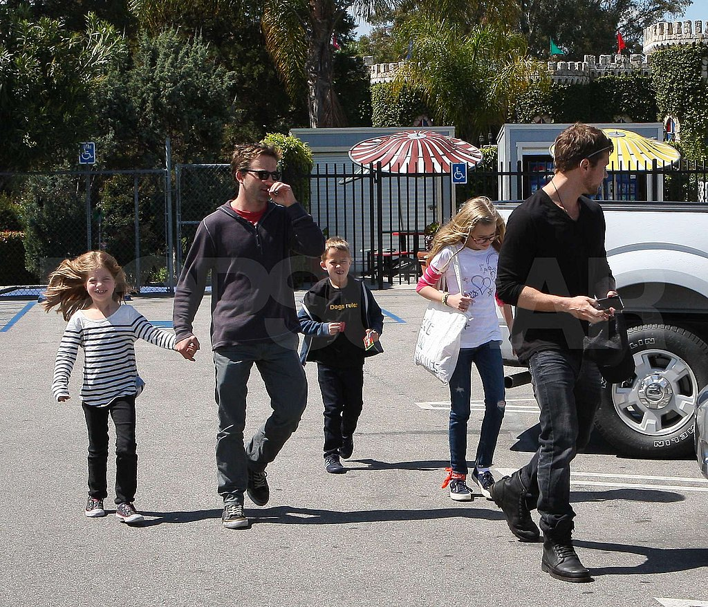 Ryan Phillippe and Breckin Meyer Team Up For a Playdate With Their Kids