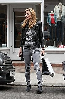 Pictures of Kate Moss Shopping at Zadig and Voltaire in London