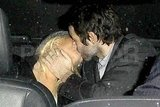 Christina Aguilera Shares a Back Seat Make-Out Session With Her Man