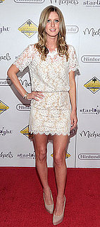 Nicky Hilton Wears Lace Charles Henry Dress to Starlight Event in LA 2011-03-28 09:42:27