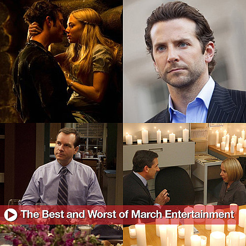 Best and Worst of March Entertainment, Including The Office Proposal, Casey Abrams's Idol Meltdown, and Big Love's Series Finale
