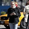 Pictures of Diane Kruger on a Walk in Chilly NYC
