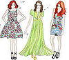 Lily Allen Designs Vintage-Inspired Collection Under Lucy In Disguise Label 2011-03-29 07:22:43