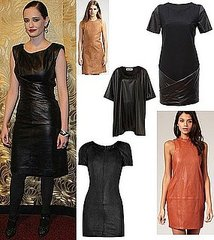 Our Top Five Leather Dresses To Update Your Wardrobe, Inspired By Eva Green