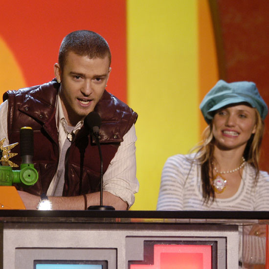Soon after they met during the 2003 ceremony Justin Timberlake and Cameron Diaz began dating.