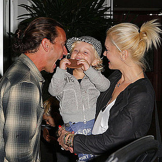 Pictures of Gwen Stefani and Gavin Rossdale With Kingston and Zuma at E. Baldi