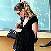 Pictures of Gisele Bundchen Leaving Tracy Anderson's Studio