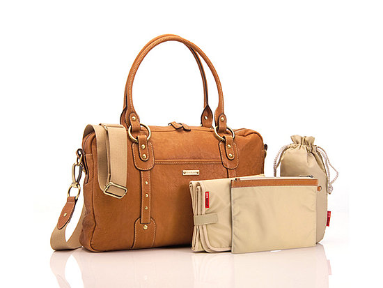 Storksak Elizabeth Leather Diaper Bag