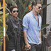 Pictures of Halle Berry and Olivier Martinez Out For Dinner in LA