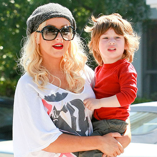 Pictures of Christina Aguilera and Max Bratman