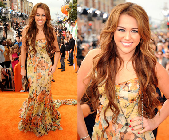 Miley Cyrus at the Kids' Choice Awards 2011