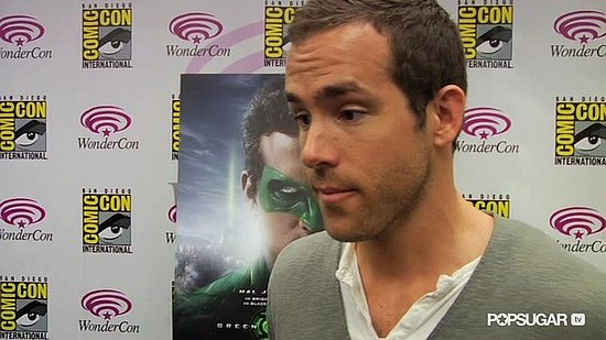 "Video: Ryan Reynolds Talks About ""Space Epic"" Green Lantern at WonderCon"