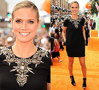 Heidi Klum in Gucci at the Kids' Choice Awards 2011 2011-04-02 17:15:46