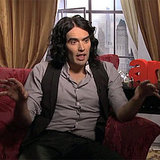 Video Interview With Russell Brand on Arthur, Jennifer Garner, Helen Mirren and Wearing George Clooney's Batsuit