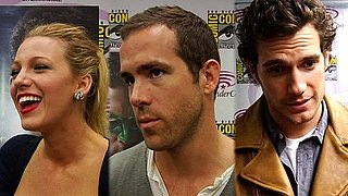 Video: Green Lantern's Ryan Reynolds, Blake Lively and Superman Henry Cavill and Isabel Lucas at 2011 WonderCon