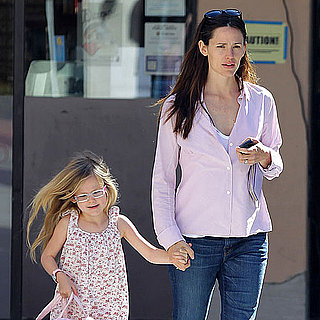 Pictures of Jennifer Garner and Violet Affleck in Santa Monica