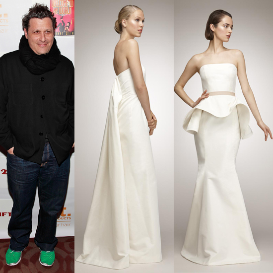 Peep Isaac Mizrahi's Wedding Collection for The Aisle