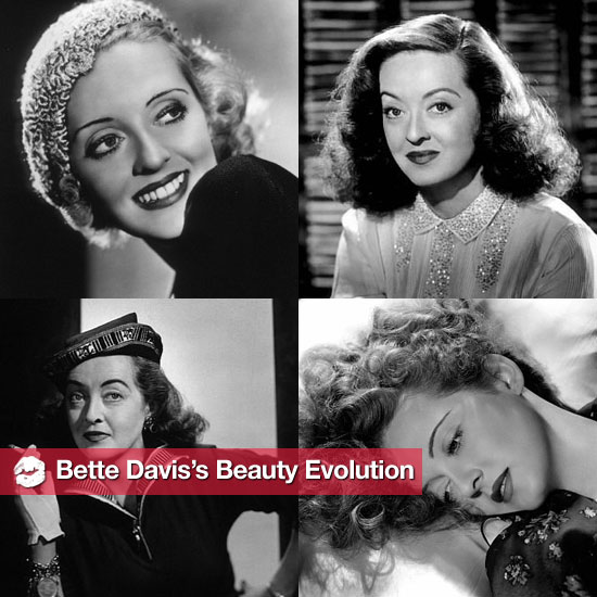 A Look Back at Bette Davis's Beauty Evolution