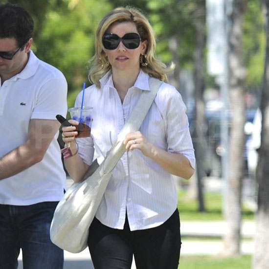 Elizabeth Banks and Her Husband Step Out With New Baby Felix