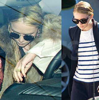 Pictures of Mary-Kate and Ashley Olsen Leaving the Salon in Beverly Hills